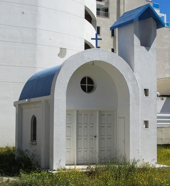 Cyprus, Larnaca, Town, Chapel, Architecture