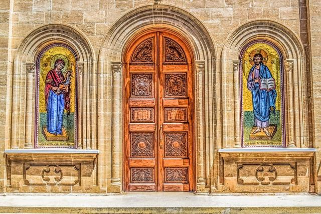 Cyprus, Athienou, Panagia, Church, Orthodox, Religion