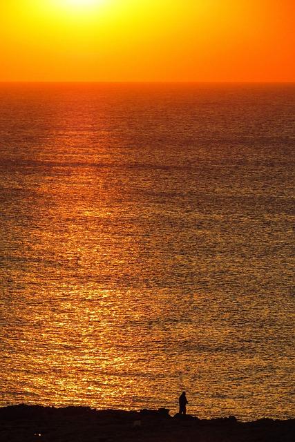 Cyprus, Cavo Greko, Sunset
