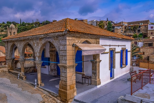 Cyprus, Tochni, Architecture, Traditional, Old, Tavern