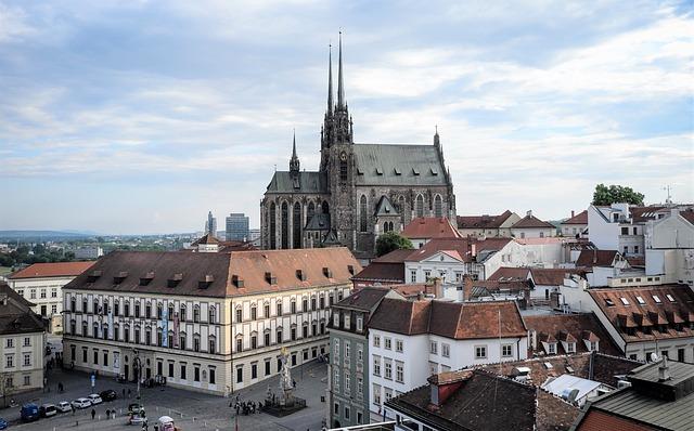 Brno, Cz, Czech Republic, Moravia, Middle Ages, City