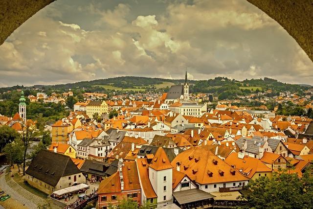 český Krumlov, Czech, Czech Republic, City, History