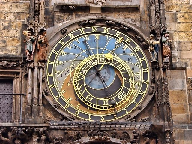 Prague, Clock, Astrological, Czech, Historic, Famous