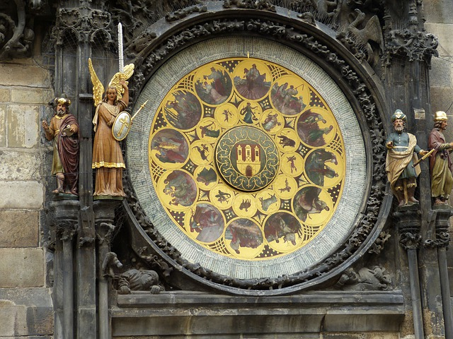 Prague, Old Town, City, Czech Republic, Capital, Clock