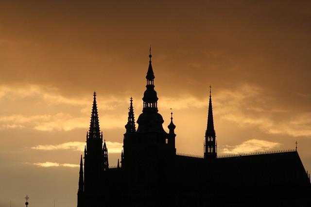 Prague, Czech Republic, Charles Bridge, Prague Castle