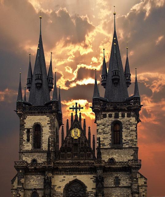 Prague, Churches, Czech Republic, Old Town, Capital