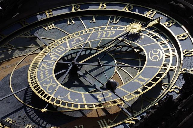 Clock, Prague, Czech Republic, City, Hours, Antiquities