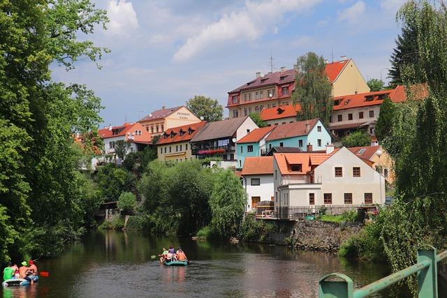 český Krumlov, Czech Republic, Krumlov, Medieval