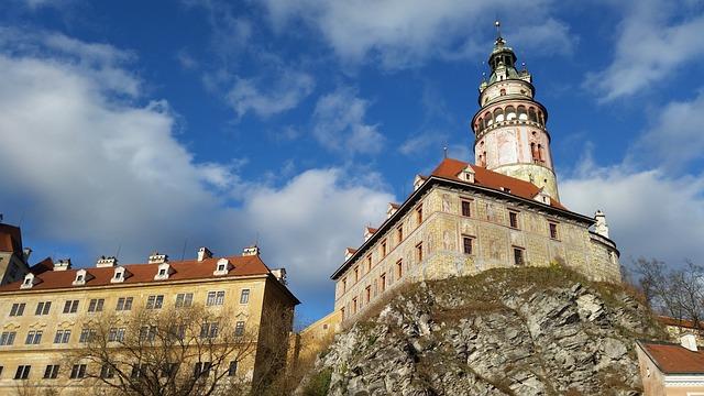 Czech Republic, Cesky Krumlov Kkeurom, Middle Ages