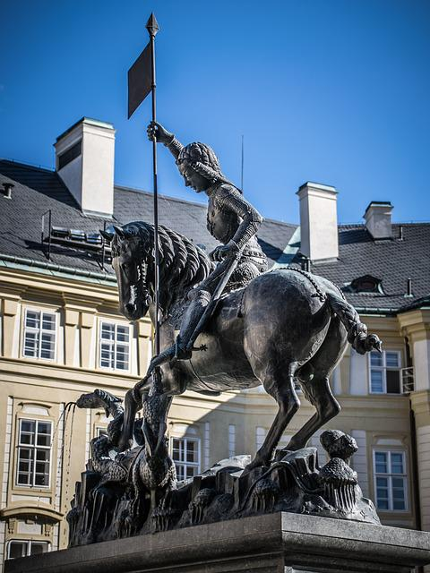 Prague Castle, Statue, Czech Republic, History