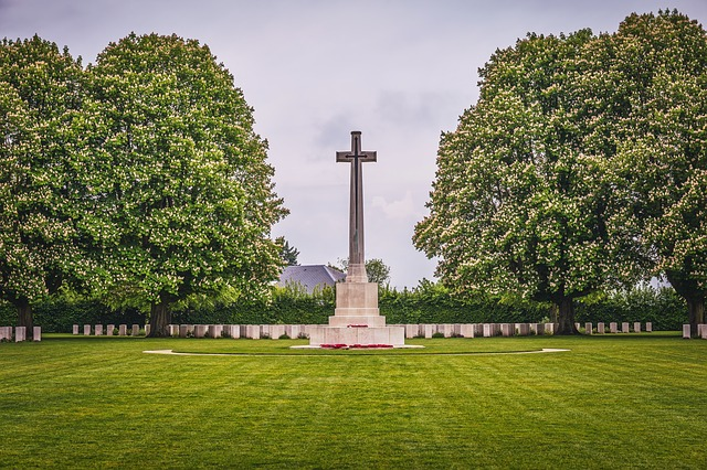 Memorial, Cemetery, Military, D-day, Normandy