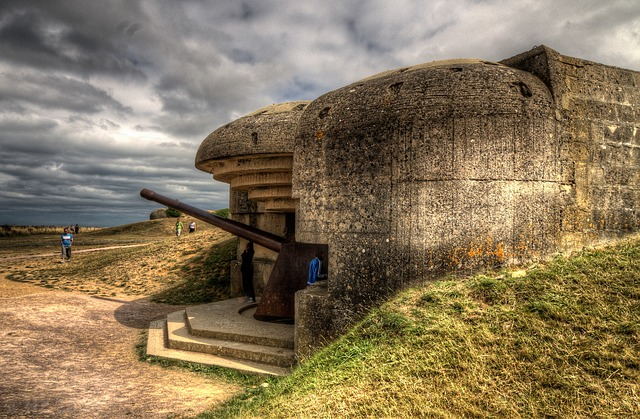 Batterie De Longues, D-day, Normandy, France, War