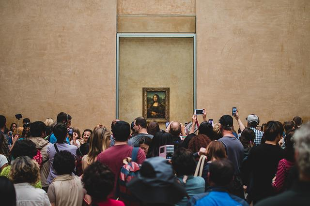 Da Vinci, Louvre, Monalisa, Smile, France, Paris, Snap