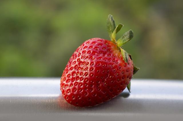 Food, Fruits, Strawberries, Dalat, Vietnam