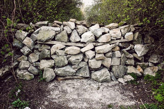 Stones, Barrier, Dam, Path