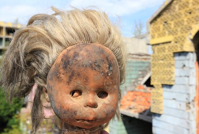 Bosnia, Hezegovina, Sarajevo, Doll, War, Damage