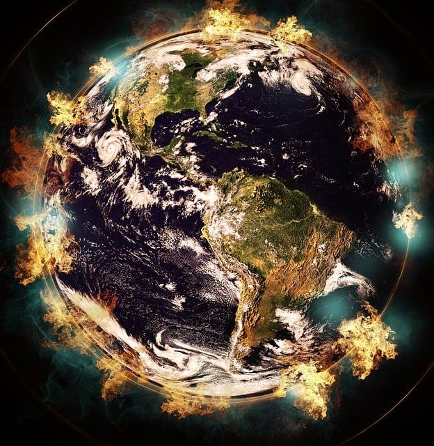 Earth, Destruction, Environment, Damage, Pollution