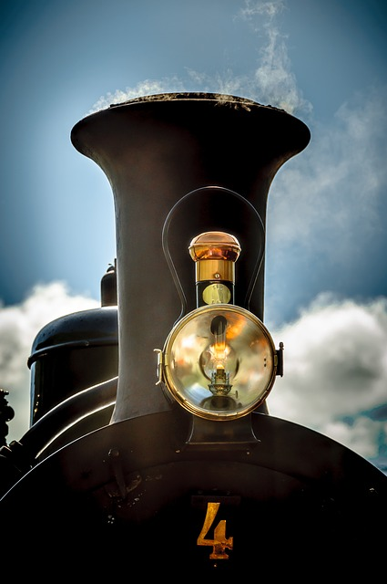 Locomotive, Dampflokomitive, Train, Railway
