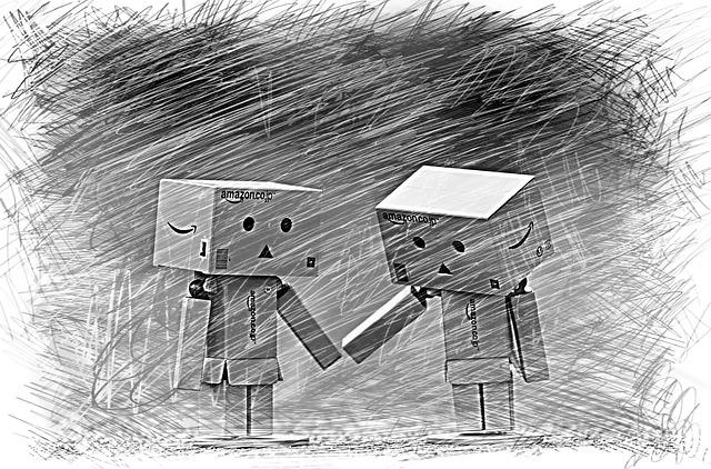 Danbo, Greeting Card, Drawing, Fig, Together