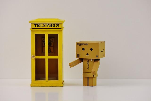 Phone Booth, Danbo, Phone, Figure, Funny