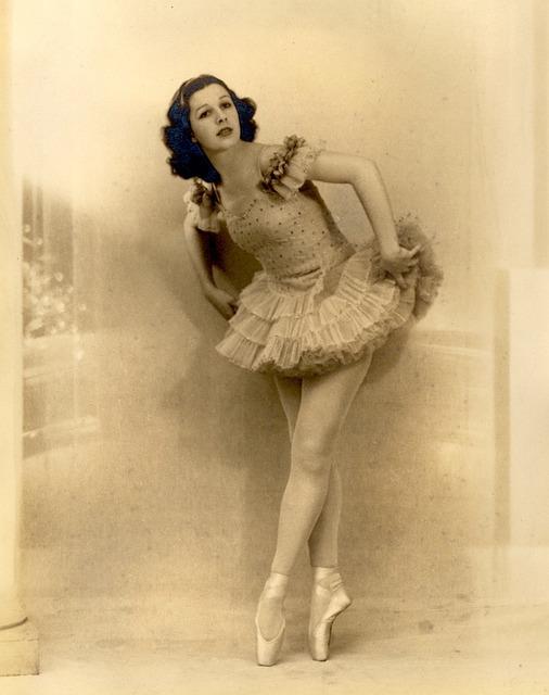 Vintage, Ballerina, Ballet, Female, Dance, Graceful