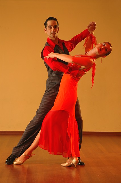 Latin, Dance, Tango, Ballroom, Dancing Couple