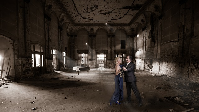 Lost Place, Ballroom, Human, Dance