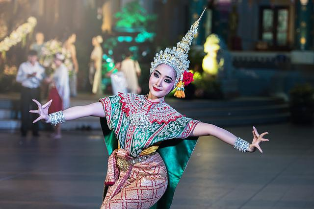 Dancer, Asia, Art, Bangkok, Pretty, Classical, Colorful