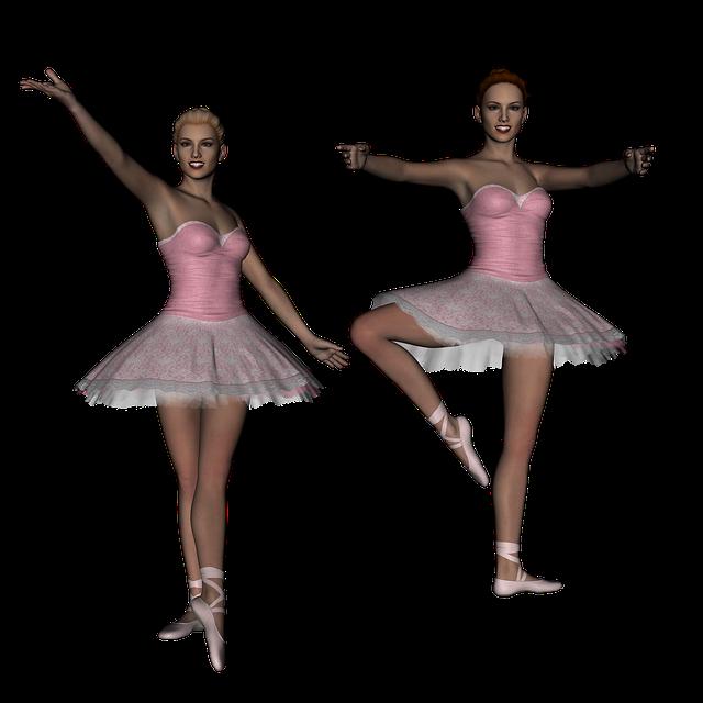 Ballet, Ballerina, Dancer, Girl, 3d, Render, Tutu
