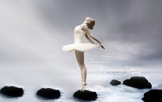 Ballerina, Ballet Dancer, Dancer, Grazie, Pose, Fantasy