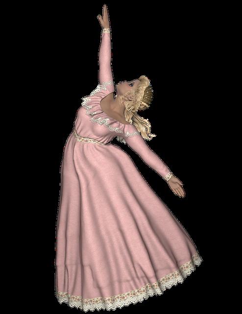 Dancer, Dancing, Woman, Girl, Gown, Png