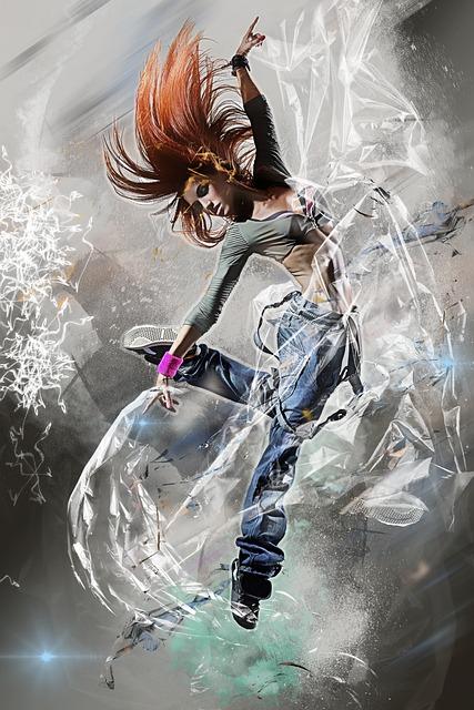 Woman, Girl Female, Jumping, Fun, Move, Dancing, Human