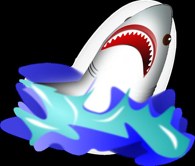 Shark, Attack, Wave, Danger, Dangerous, Ocean, Fish