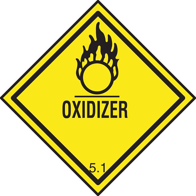 Information, Warning, Dangerous, Packaging, Oxidizer