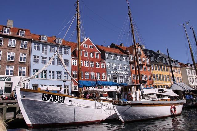 Nyhavn, Boats, Harbour, Canal, Denmark, Danish, Nordic