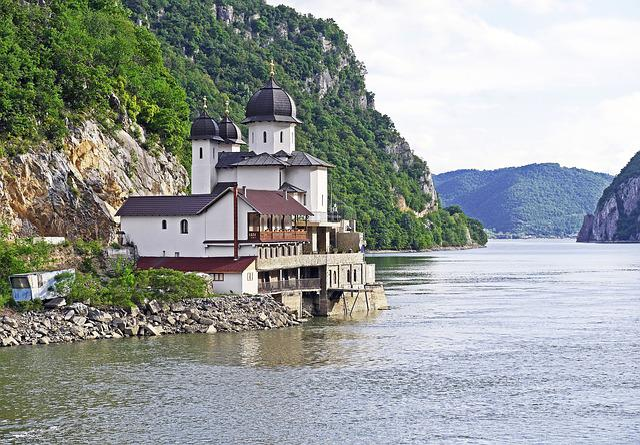 Iron Gate, Karparten, Danube Gorge, Abbey, Monastery