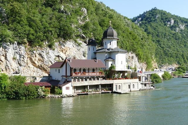 Danube, River, Serbia, Landscape, Rock, Iron Gate