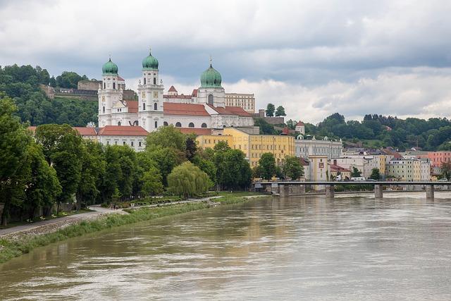 Old Town, Passau, Danube