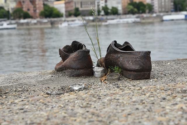 Danube, Jew, Shoe, World War, River, Europe, Hungarian