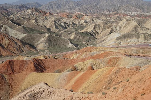 Colorful, Zhangye, Danxia