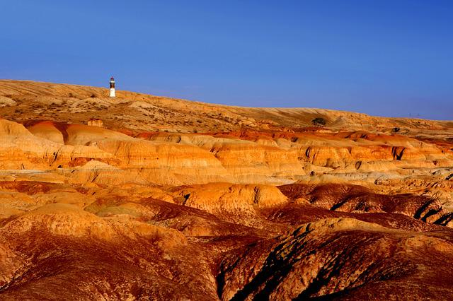 Lighthouse, Danxia, Wilderness, Danxia Landform, Yadan