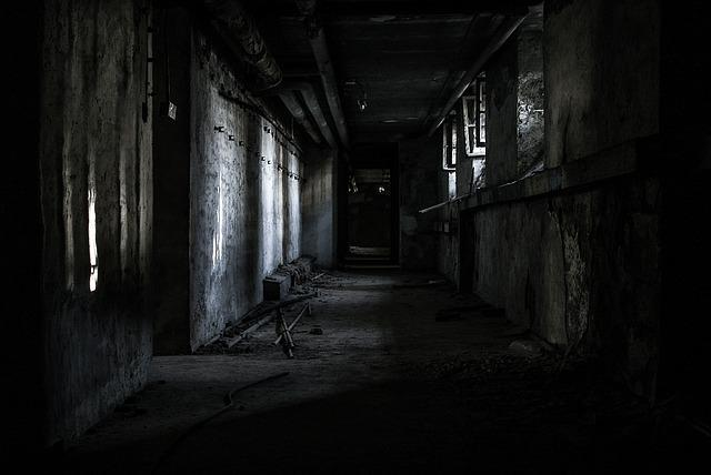 Lost Places, Hallway, Abandoned, Lapsed, Old, Dark