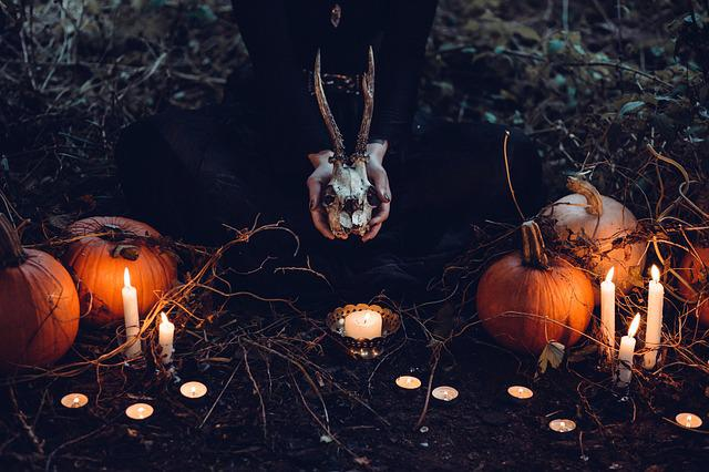 Candle, Candlelight, Ceremony, Occult, Creepy, Dark