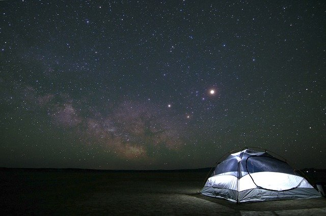 Camping, Constellation, Cosmos, Dark, Exploration