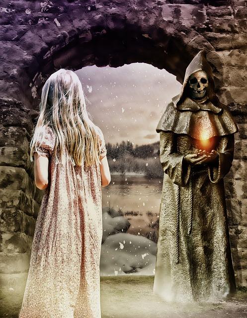 Gothic, Fantasy, Dark, Girl, Magic, Mystery, Portal