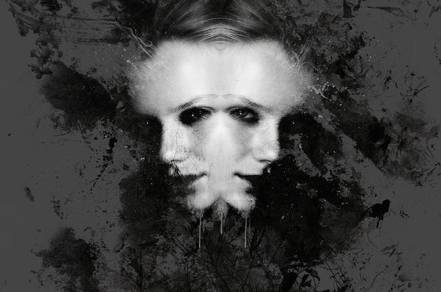 Gothic, Dark, Fantasy, Evil, God, Duality, Woman