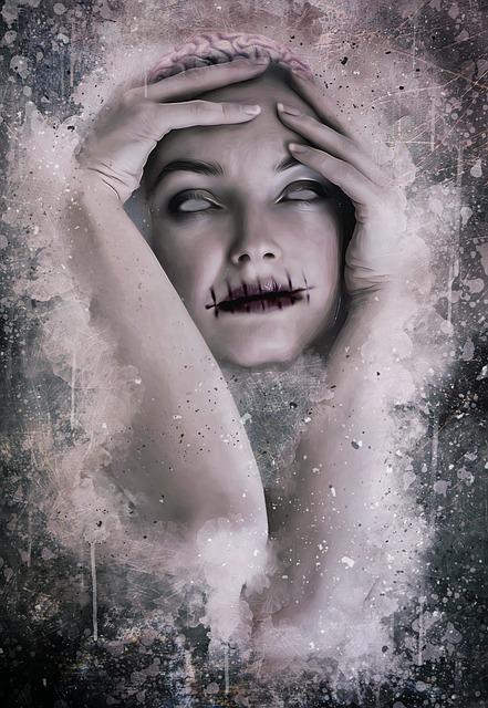 Horror, Macabre, Dark, Gothic, Halloween, Portrait