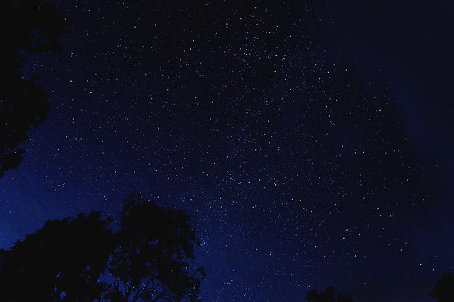 Beautiful, Dark, Evening, Idyllic