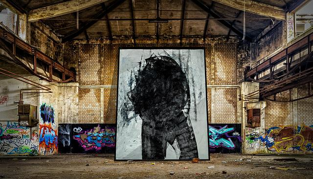 Lost Places, Dark One, Factory Building, Ruin