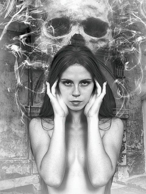 Medium, Psychic, Female, Fantasy Woman, Gothic, Dark